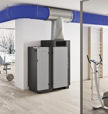 Generador de aire para la calefacción